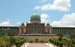 Landmark of Putrajaya, Malaysia. Prime Minister's Department administrative building in Putrajaya Malaysia Royalty Free Stock Photo