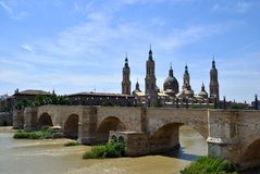 Landmark of Saragossa Royalty Free Stock Photo