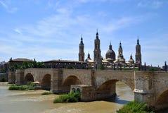 Landmark of Saragossa Royalty Free Stock Photo