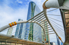 Landmark at Sathorn district Stock Photo