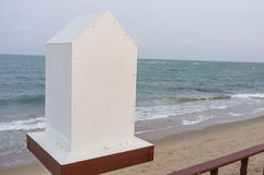 Landmark by the Sea Stock Photo