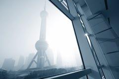landmark shanghai arkivbilder