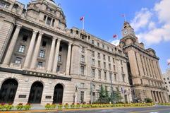 landmark shanghai för byggnadsbundporslin fotografering för bildbyråer
