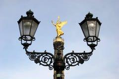 Landmark Siegessäule in Berlin Stock Image
