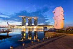 Landmark of Singapore Stock Image