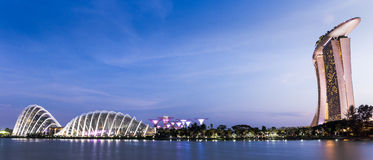 Landmark in Singapore Stock Images