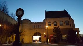 Landmark, Sky, Building, Town stock photo