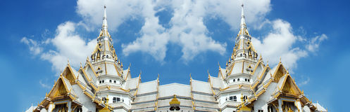 Landmark Sothorn temple at Chachueng-sou province Thailand Royalty Free Stock Images