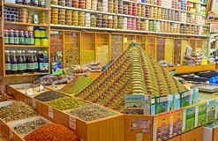 The landmark in the spice shop Royalty Free Stock Images