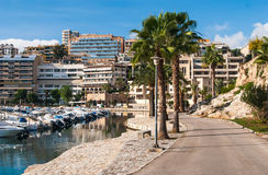 Palma de Majorca street view Royalty Free Stock Images