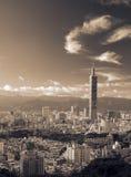 Landmark of Taipei skyscraper Royalty Free Stock Images