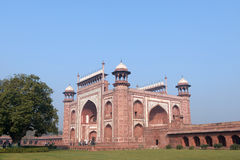 Landmark Taj Mahal in India Royalty Free Stock Photo
