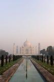 Landmark of Taj Mahal in India Stock Photos