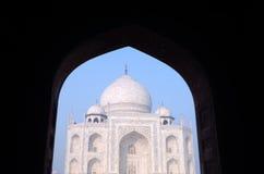 Landmark of Taj Mahal in India Stock Photo
