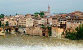 Albi landmark. Landmark of a Tarn river in the village of Albi (France Stock Photo