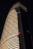 The Landmark Tower Closeup At Night Royalty Free Stock Photos