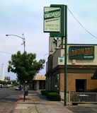 Landmark in Tower District, Fresno. Tower District in Fresno, CA Royalty Free Stock Photography