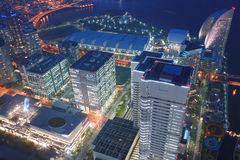 Landmark tower, Yokohama Japan, Minato Mirai Royalty Free Stock Images
