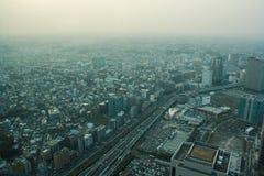 Landmark tower, Yokohama Japan, Minato Mirai Royalty Free Stock Photography
