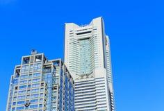 Landmark Tower in Yokohama. The Landmark Tower in Minatomirai 21. It is the second tallest building in Japan Stock Photo