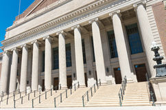 Landmark University Auditorium Facade Royalty Free Stock Image