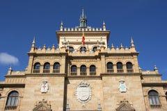 Landmark in Valladolid stock photography