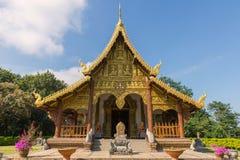 Landmark of wat Thai, Beautiful temple in Thailand Stock Image
