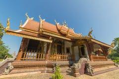 Landmark of wat Thai, Beautiful temple in Thailand Royalty Free Stock Photo