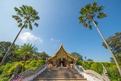 Landmark of wat Thai, Beautiful temple in Thailand Stock Photo