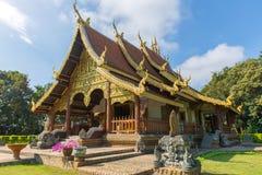 Landmark of wat Thai, Beautiful temple in Thailand Stock Photos