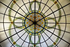 The landmark Westin Palace Hotel in Madrid, Spain Royalty Free Stock Photos