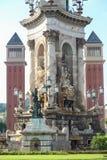 Landmarks of Catalonia. Landmarks and arts of Catalonia, Barcelona Spain Royalty Free Stock Image