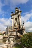 Landmarks of Catalonia. Landmarks and arts of Catalonia, Barcelona Spain Stock Image