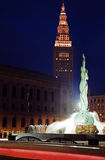 Landmarks of Cleveland Royalty Free Stock Images