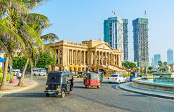 The landmarks of Colombo stock photography