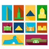 Landmarks of Egypt Royalty Free Stock Photography