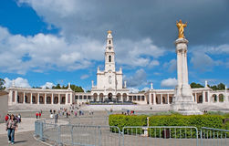The landmarks of Fatima Royalty Free Stock Image