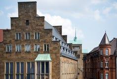 Landmarks of the german city Minden (Westphalia) Royalty Free Stock Image