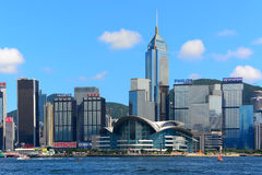 Landmarks of hong kong Royalty Free Stock Photo