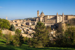 Landmarks of Italy - Urbino Royalty Free Stock Photos