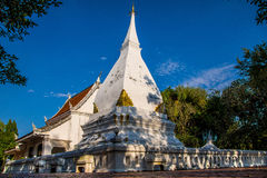 Relics Sri Two Love. Landmarks of Loei Province Many people know each other and go out and pay homage Royalty Free Stock Images