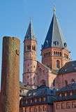 Landmarks of Mainz Royalty Free Stock Photo