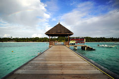 Landmarks of Maldives Royalty Free Stock Photos