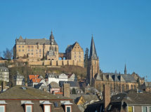 Landmarks of Marburg Stock Photography