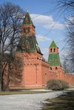 Landmarks of Moscow Kremlin. UNESCO World Heritage Site. Stock Images