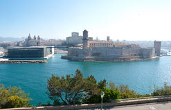 Landmarks Of Marseille Royalty Free Stock Photos