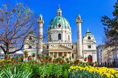 Landmarks Of Vienna Royalty Free Stock Photo