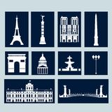 Landmarks of Paris Stock Image