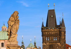 Landmarks of Prague Royalty Free Stock Image