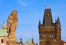 Landmarks of Prague Royalty Free Stock Image